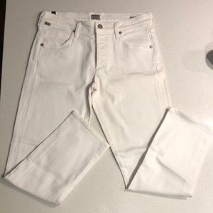Citizens of Humanity white jeans women's size 26